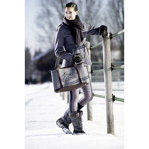 ce38607ea2d8 Horse Comfort Shopper bag jeans canvas   leather